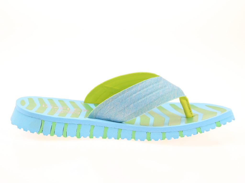 Skechers-Damen-Sandalen-Pantoletten-14258-BLGR-blau-NEU