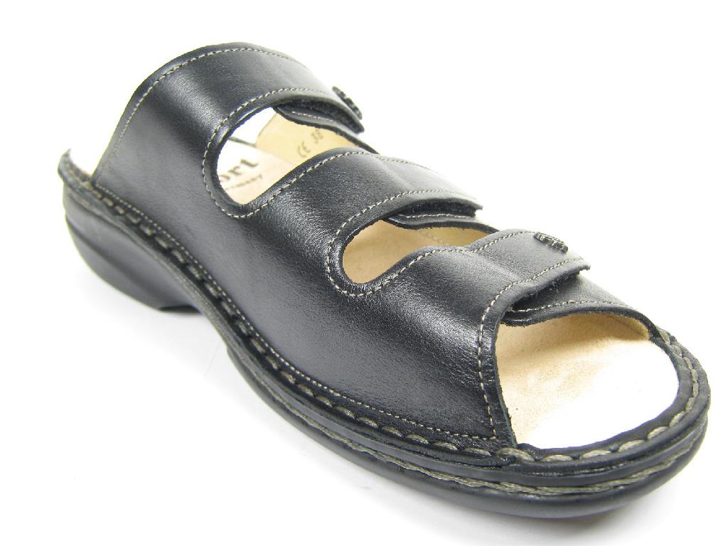 finn comfort damen sandalen pantoletten 82564 014099. Black Bedroom Furniture Sets. Home Design Ideas