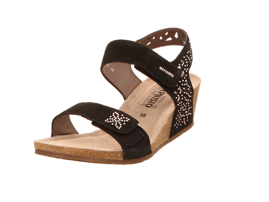 mephisto damen sandalen marie spark 3600 schw schwarz neu ebay. Black Bedroom Furniture Sets. Home Design Ideas