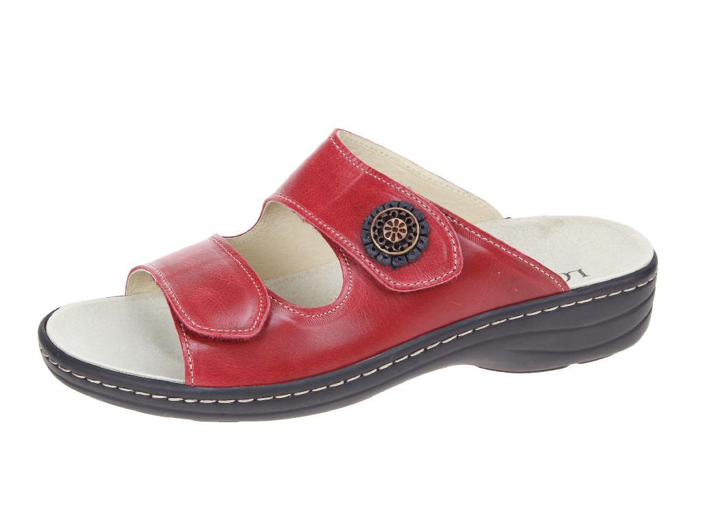skechers damen sandalen pantoletten 3074262 4 4 rot neu ebay. Black Bedroom Furniture Sets. Home Design Ideas