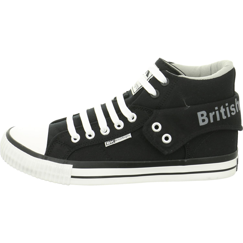 British schwarz Knights Herren Sneaker B41-3702-19 schwarz British NEU 62d8dc
