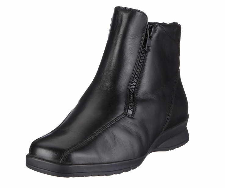 bffe79b29fa042 Semler Damen Stiefel   Stiefeletten K14266 schwarz NEU
