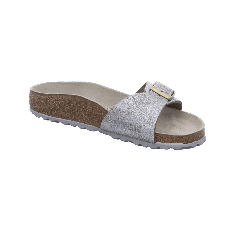 Birkenstock Damen Sandale / Pantoletten 1008694 Madrid schmal grau NEU