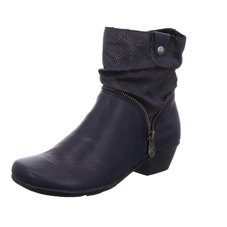 Rieker Damen Stiefel   Stiefeletten Y7368-14 Blau blau NEU