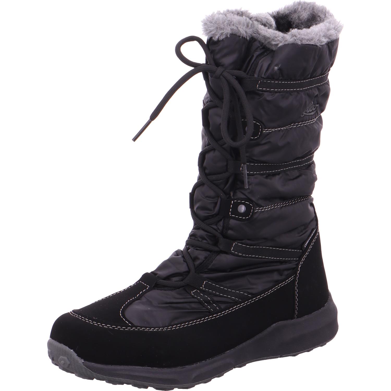 LICO Damen Stiefel   Stiefeletten 710176 - schwarz NEU
