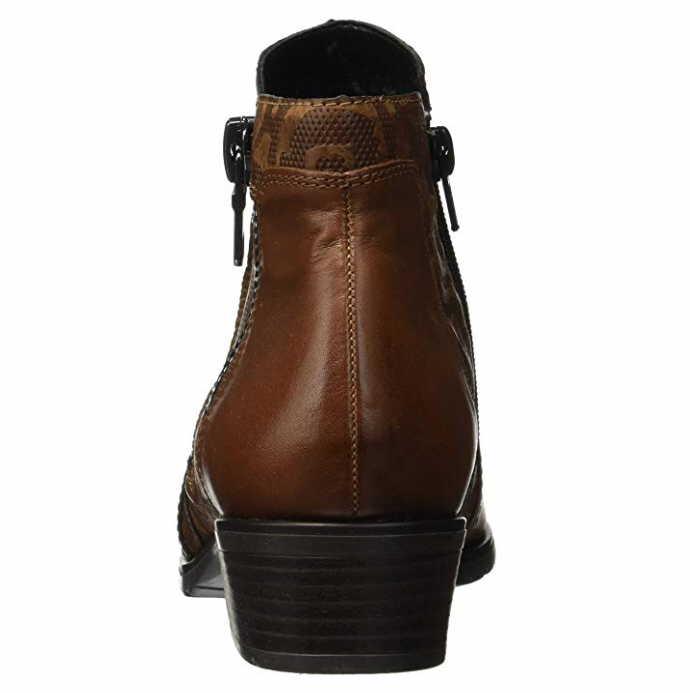 22 Damen Stiefel 22 D6870 Stiefeletten Remonte Neu Braun dIwfqaInx