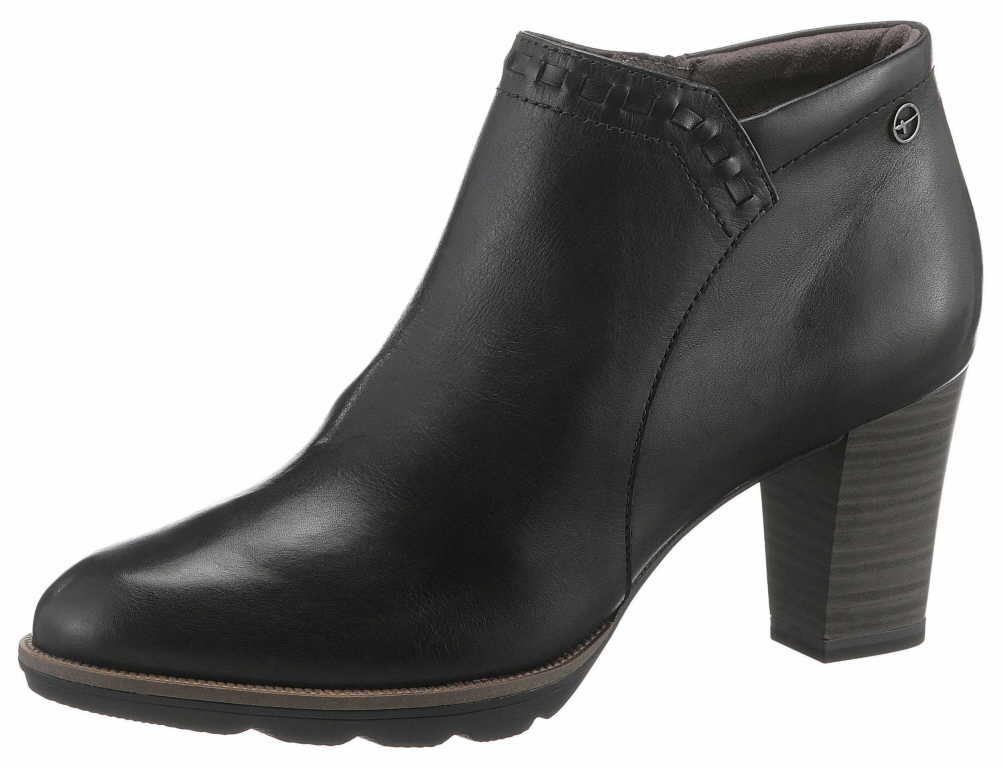 Tamaris Damen Stiefel   Stiefeletten 1-1-25813-22 001 001 schwarz NEU